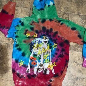 Astroworld Tie Dye Travis Scott Hoodie Authentic🚀